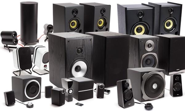 9 speakersets getest