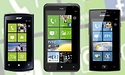 Windows Phones van Acer, HTC en Samsung