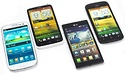 High-end Android: HTC One S en X, LG 4X HD en Samsung Galaxy S3 review