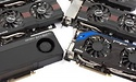 Six GeForce GTX 660 Ti graphics cards: ASUS, EVGA, Gigabyte, MSI and Zotac