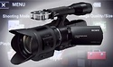 Sony NEX-VG30: Video camera with interchangeable lenses