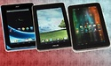 Three 7-inch tablets: Acer, ASUS and Prestigio