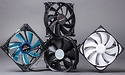 Tested: 71 case fans of 140 mm: round-up big fans