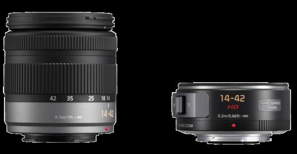 Panasonics oude en nieuwe 14-42mm lens