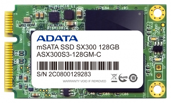 Adata presents new SATA600 mSATA SSDs