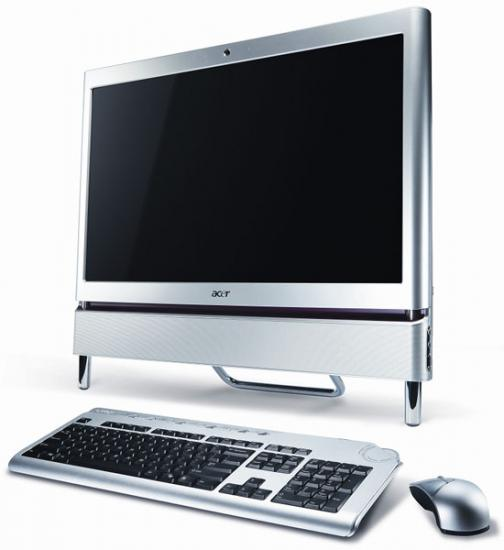 Acer All-in-One PC met multi-touch scherm