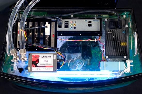 Huisvest je hardware in een aquarium   Hardware Info Belgi u00eb