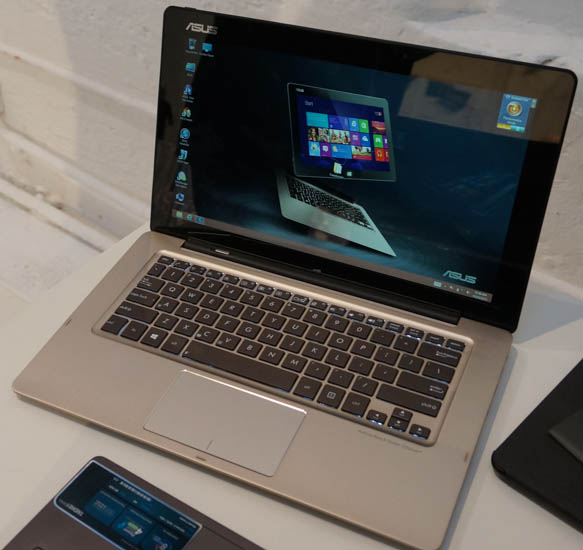 13,3 inch Transformer Book met i5 of i7 van ASUS