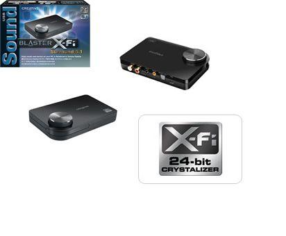 Nieuwe X-Fi geluidskaart met USB