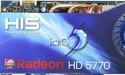 HIS zet IceQ 5 koeler op Radeon HD5770