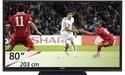 Nieuwe 80-inch televisie van Sharp met led-backlight