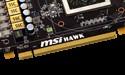 MSI R7870 Hawk heeft ook GPU Reactor aansluiting