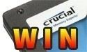 Winnaars Crucial m4 SSDs 256 GB prijsvraag