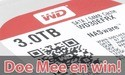 Win een Western Digital Red 3TB disk