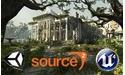 Game engines: Unity 5, Source 2 en Unreal Engine 4 gratis te gebruiken