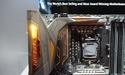 ASUS Maximus VIII Extreme Assembly Edition-moederbord is uitgevoerd met koperen kleurtstelling