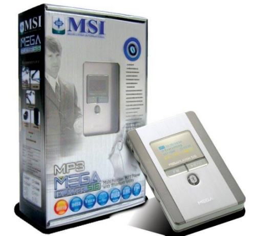 mp3 player msi 512mb:
