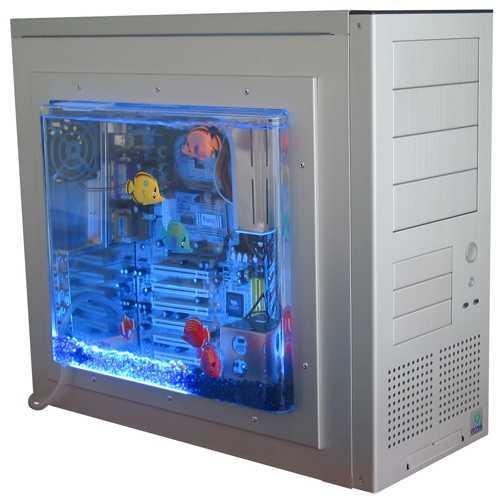 Lian Li Window Kit W 685A (aquarium sidepanel)   Hardware Info Belgi u00eb
