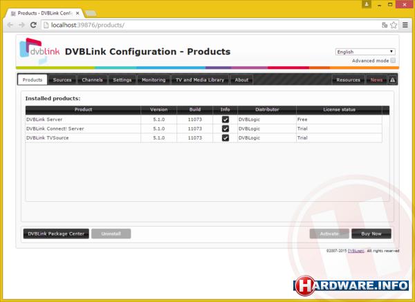 Workshop: DVB-C op je PC of NAS met een softcam - DVBLink ...