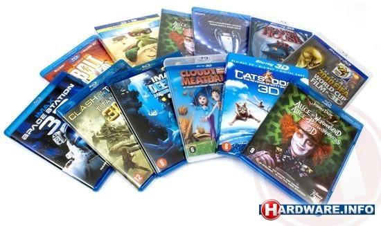 3d Blu-ray discs