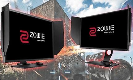Benq Zowie XL2735 en XL2540 review: gaming monsters
