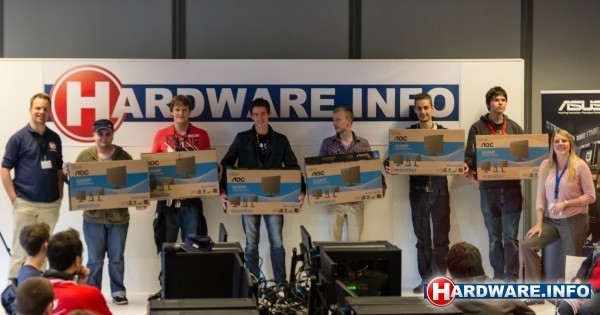 AOC, ASUS, Tones.be & Hardware.Info 120 Hz event