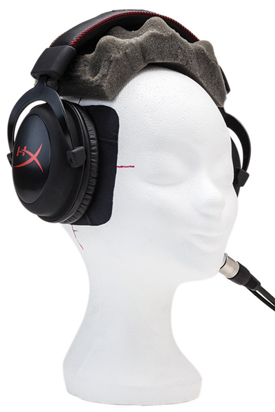Testmethode koptelefoons headsets