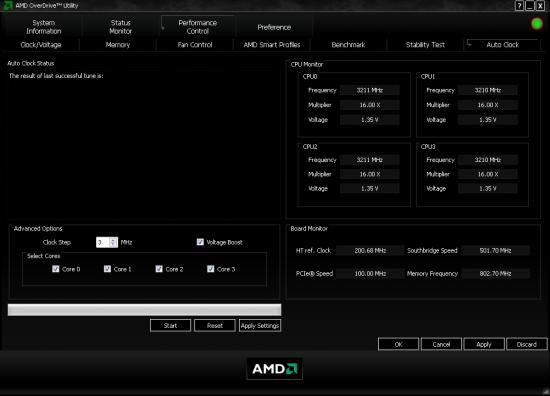 Versie 3.1 van AMD OverDrive
