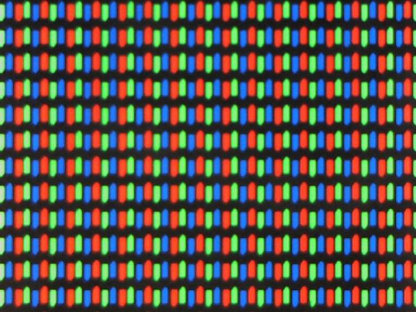 TN pixelstructuur