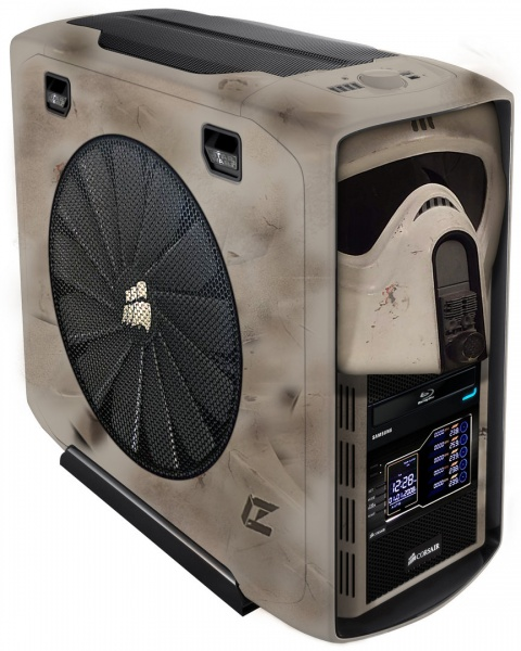 Corsair 600T Starwars PC Case Mod