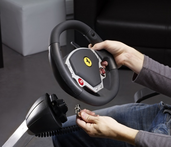 Thrustmaster Wireless Gt Cockpit 430 Scuderia Edition