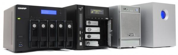 16 4- en 5-bay NAS-apparaten review - Hardware Info