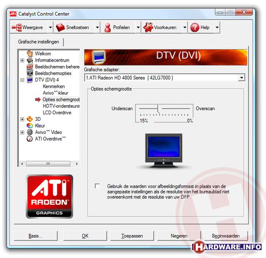 Workshop: PC op de TV - Hardware Info