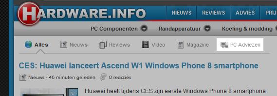 Alle PC adviezen direct zien op de voorpagina? Dat kan met dit filter.