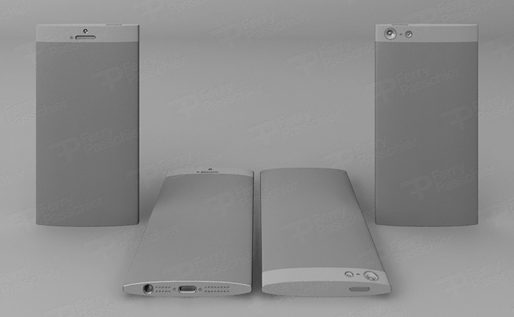 iPhone 6 prototype render door Ferry Passchier
