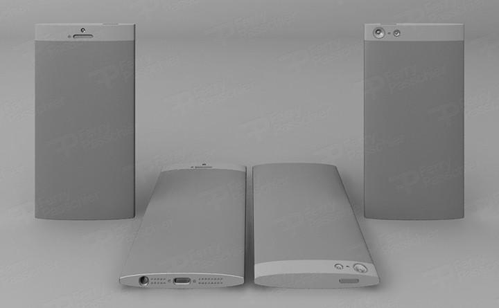 iPhone 6 prototype render door Ferry Passchier