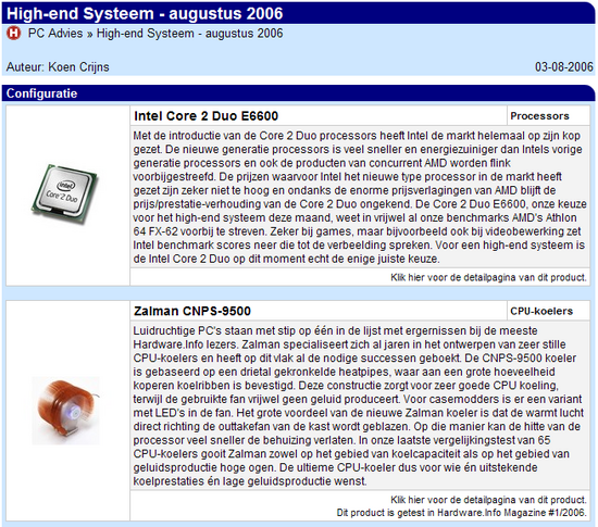 PC-advies in 2006