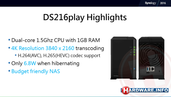 Synology 2016: voorproefje DSM 6 0 - Hardware Info