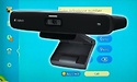 Logitech TV Cam HD review: couch Skyping