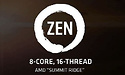 AMD Zen processors preview