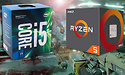 AMD Ryzen 5 vs. Intel Core i5 in games: de uitslag