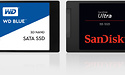 Sandisk Ultra 3D & WD Blue 3D 1TB SSD review