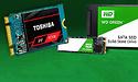 SATA & NVMe SSD's voor bodemprijzen: Toshiba OCZ RC100 en WD Green 2018 review