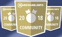 Uitslag Hardware.Info Community Awards 2018 - dit vinden jullie de beste hardware van 2018!