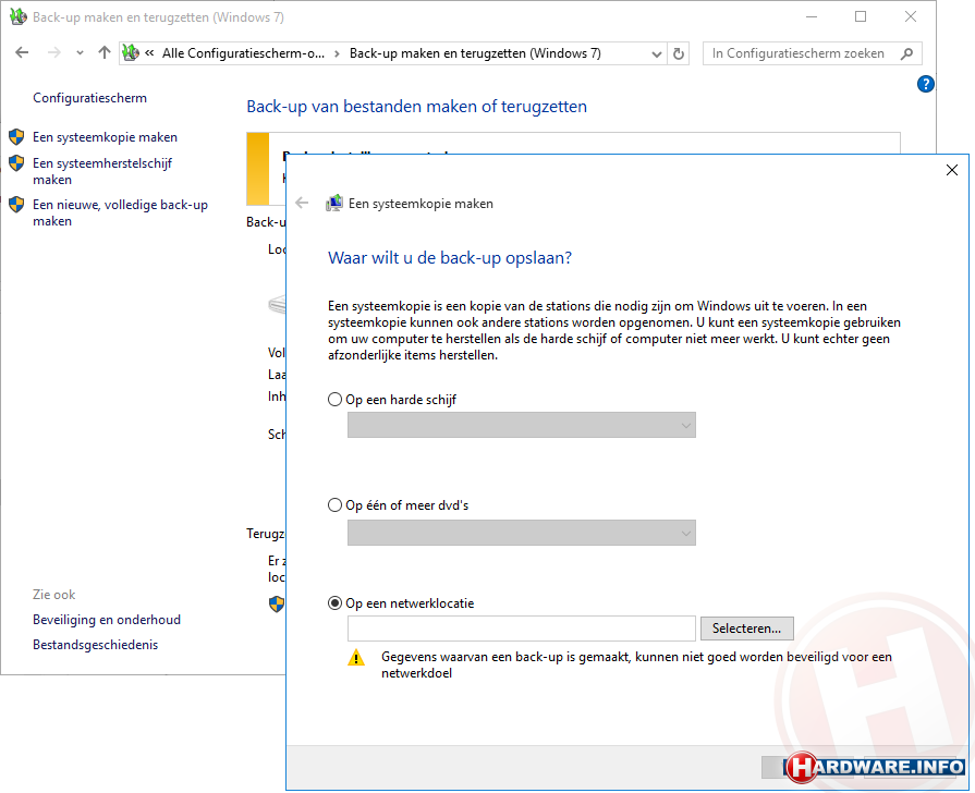 Windows 10 back-ups: zo maak je goede back-ups - Hardware Info