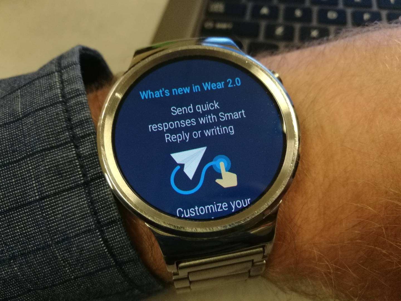 Uitrol Android Wear 2.0 naar de Huawei Watch van start
