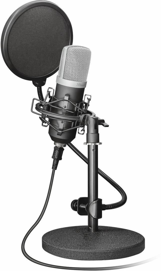 Trust lanceert nieuwe emita usb studio microfoon - Studio verwijderbare partitie ...