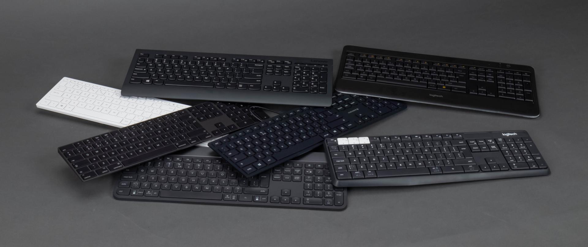 Capabele keyboards: 8 toetsenborden en 6 desktop sets