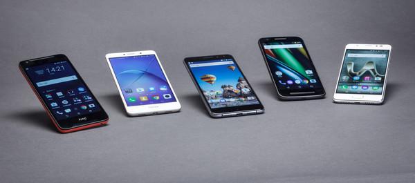 e14230b1d17 Roundup: 5 betaalbare smartphones - Hardware Info