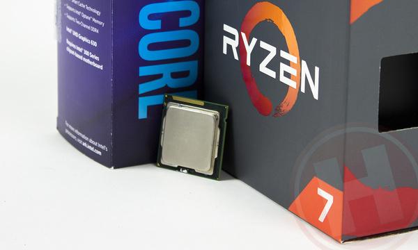 Intel Sandy Bridge (Core i5 2500K & i7 2600K) versus AMD Ryzen